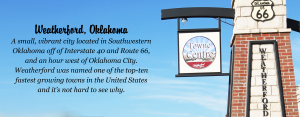 visit weatherford front page