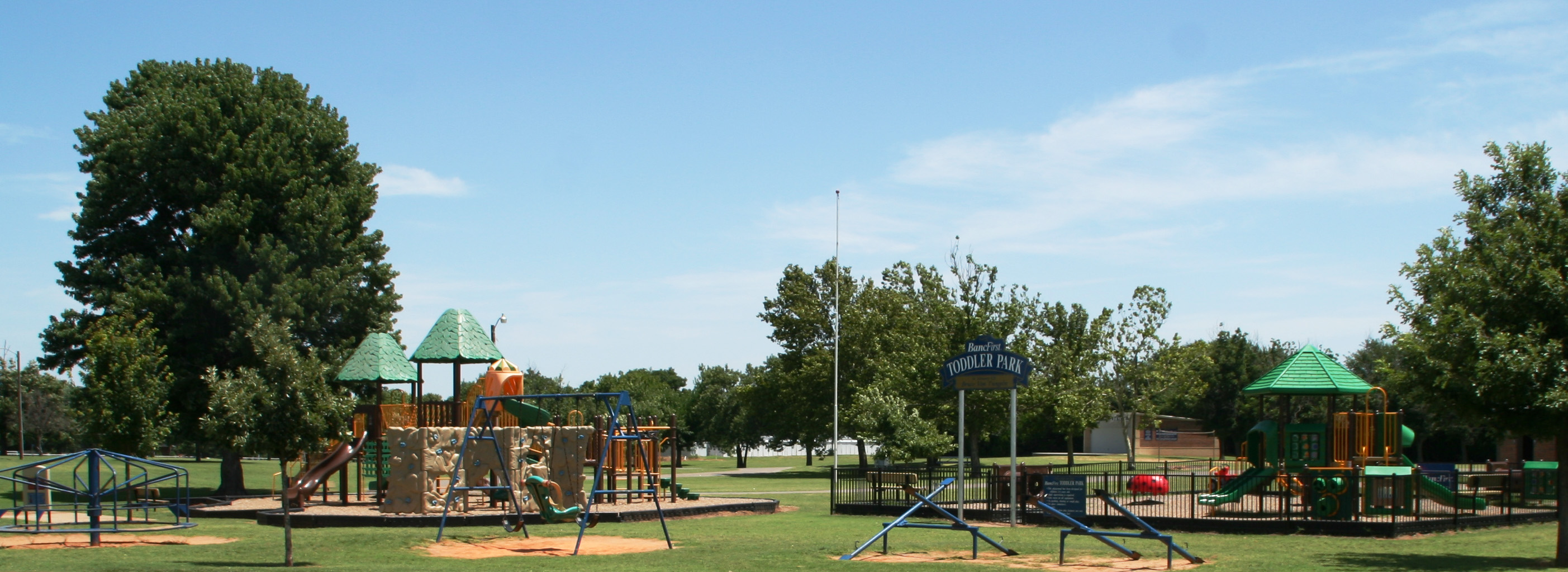 Bancfirst Toddler Park at Rader Park