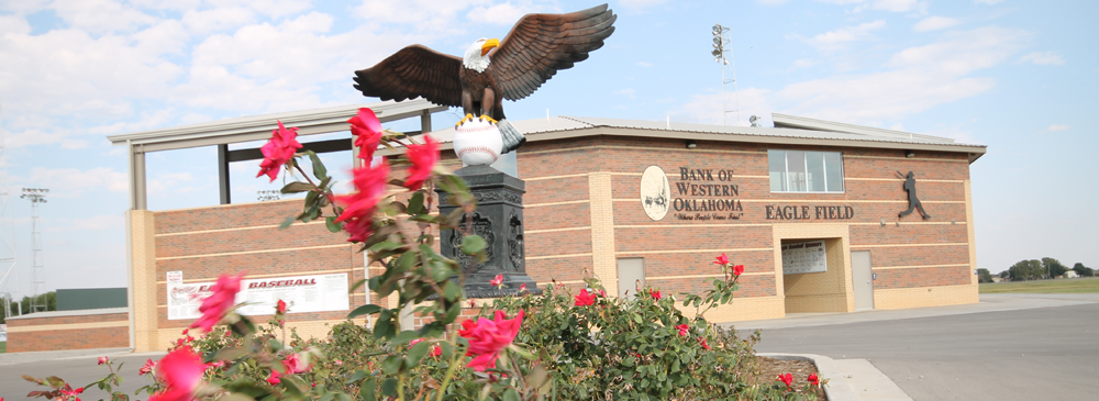 entrance of Eagle Field at Rader Park